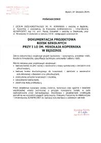 Będzin LO Kopernika_boiska