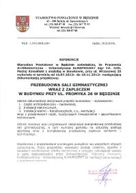 Starostwo Będzin_sala Promyka