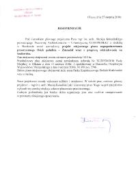 UM Olkusz_plan Osiek Południe Zimnodół